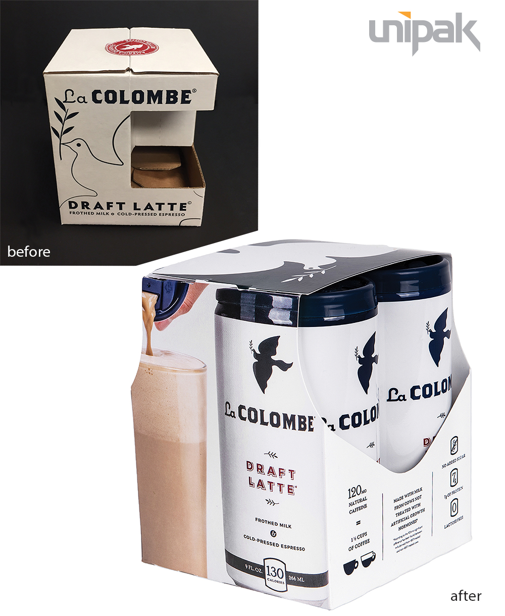 New La Colombe Packaging
